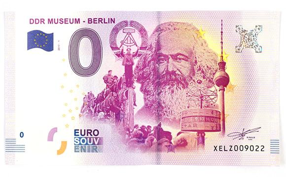 nota euro karl marx