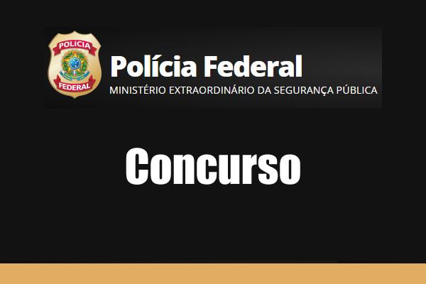 concurso policia federal 2018