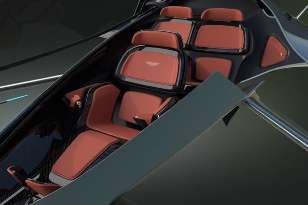 Volante Vision Concept interior
