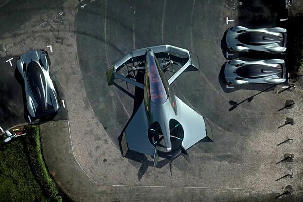 Volante Vision Concept topo