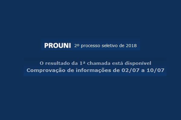 prouni 2018