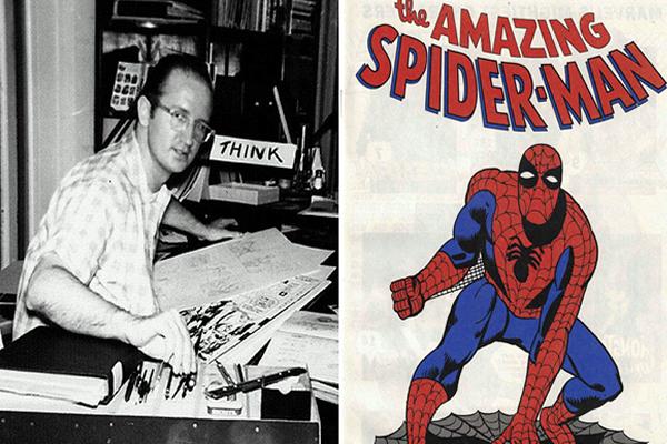 steve ditko criador homem aranha doutor estranho