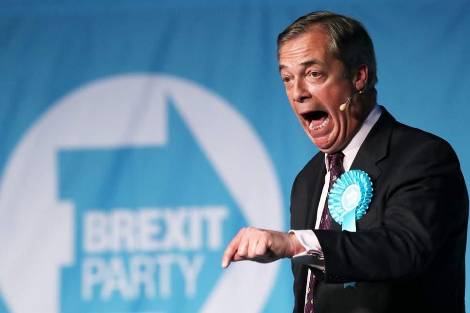 político ativista do Brexit que está participando das eleições