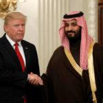 vendas militares de Trump para a Arábia Saudita
